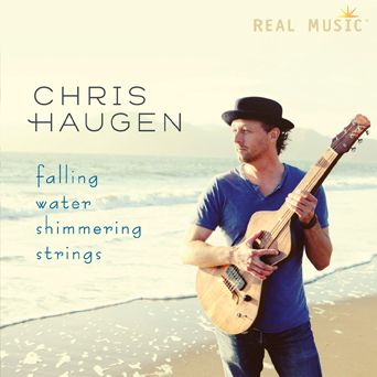 Falling Water Shimmering Strings by Chris Haugen